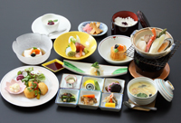 調理長快心の夕食膳プラン☆雅膳(夕朝食付)